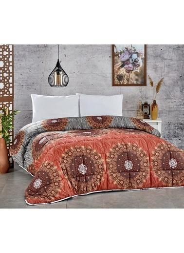 Komfort Home Çift Kişilik PolyCotton Yorgan + 2 Yastık / V7 Renkli